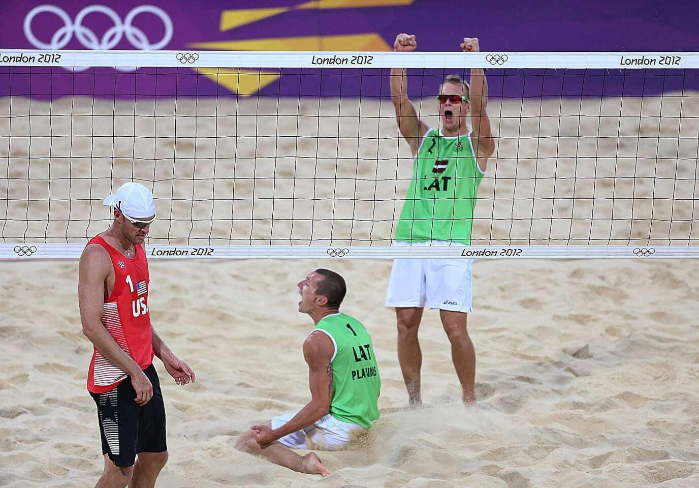 Latvia victory