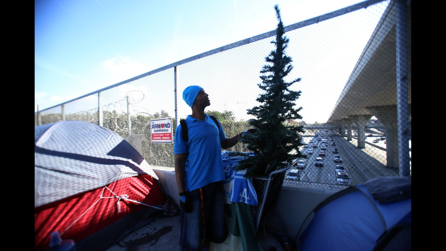 Freeways: A Refuge for the Homeless