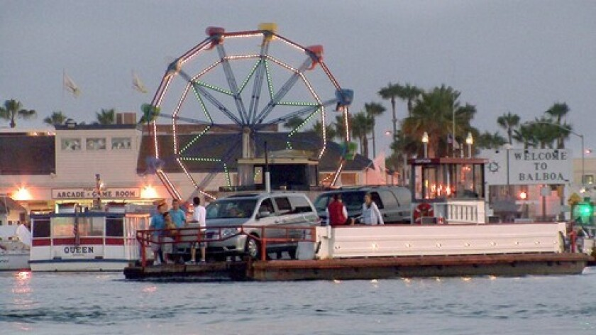 The number of passengers taking the Balboa Island Ferry has stayed about the same for the last few summers, according to Seymour Beek, whose father started the ferry service in 1919.