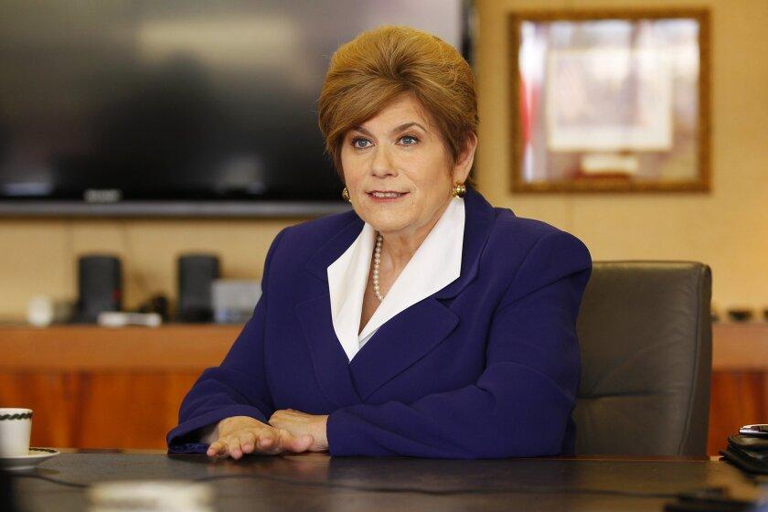 Bonnie Dumanis, San Diego District Attorney.