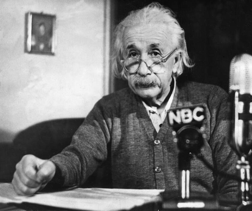 El profesor Albert Einstein. EFE/Archivo