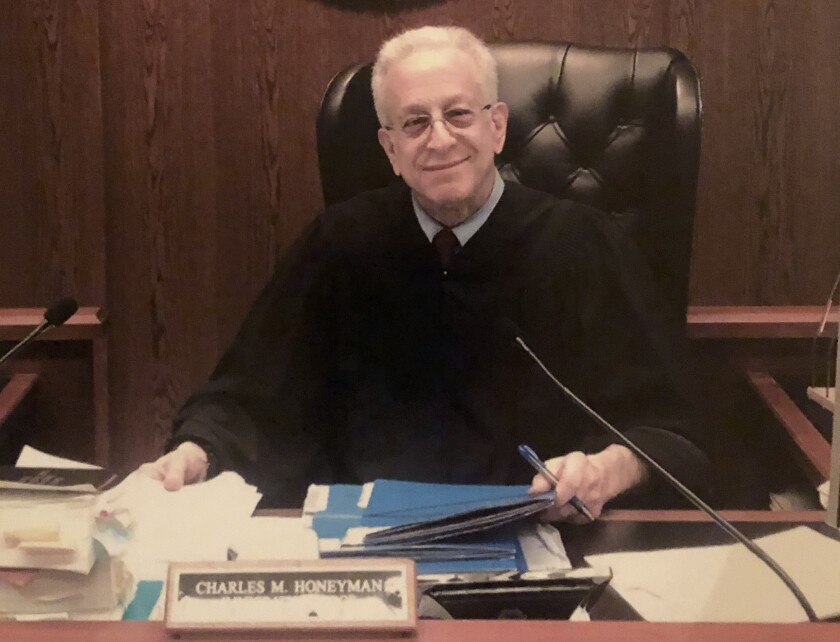 Charles Honeyman, a Philadelphia immigration judge, recently retired after 24 years on the bench.