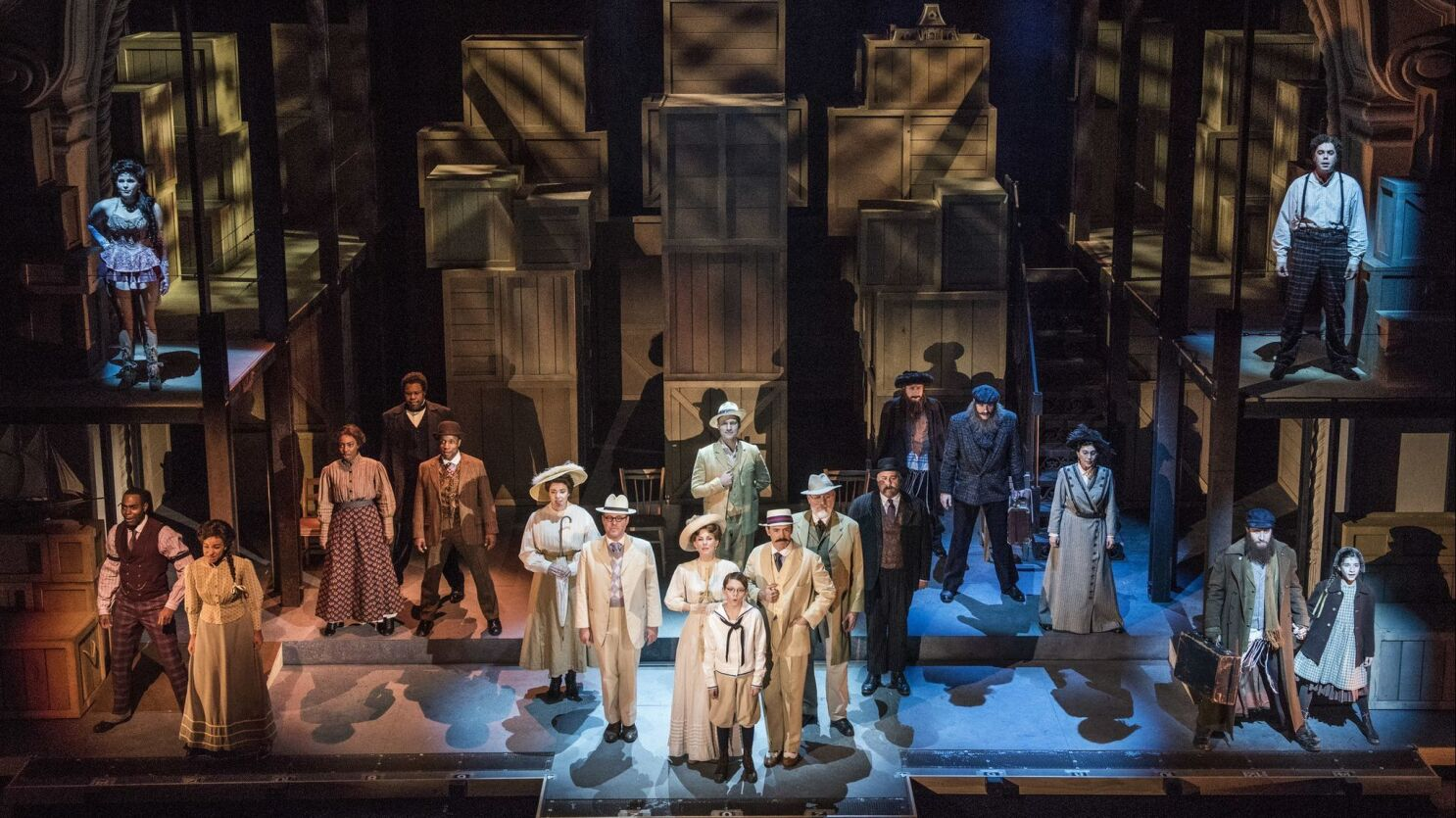 Labor Strikes Racial Violence Class Divides Ragtime In Pasadena Feels Ripped From Today S Headlines Los Angeles Times