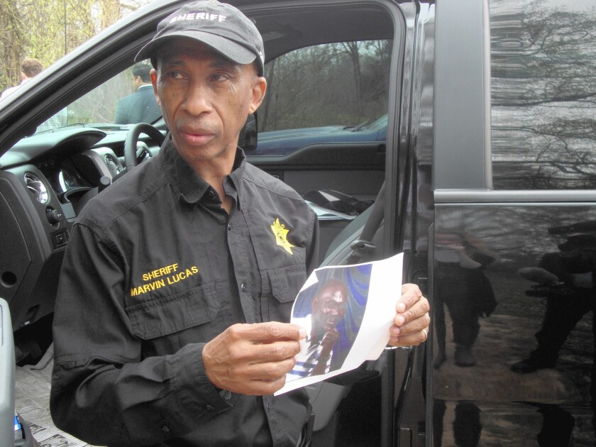 Claiborne County Sheriff Marvin Lucas