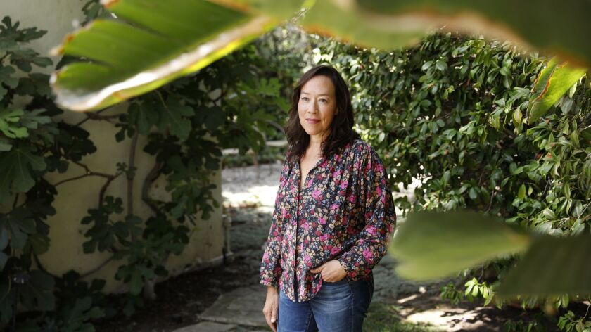 LOS ANGELES-CA-SEPTEMBER 6, 2018: Director Karyn Kusama is photographed at home in Los Angeles on We