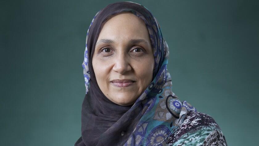 Sudanese writer Leila Aboulela.
