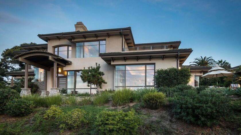 This is the custom 4,985-square-foot La Jolla house which is the grand prize of the 14th annual Dream House Raffle to benefit Ronald McDonald House Charities of San Diego.