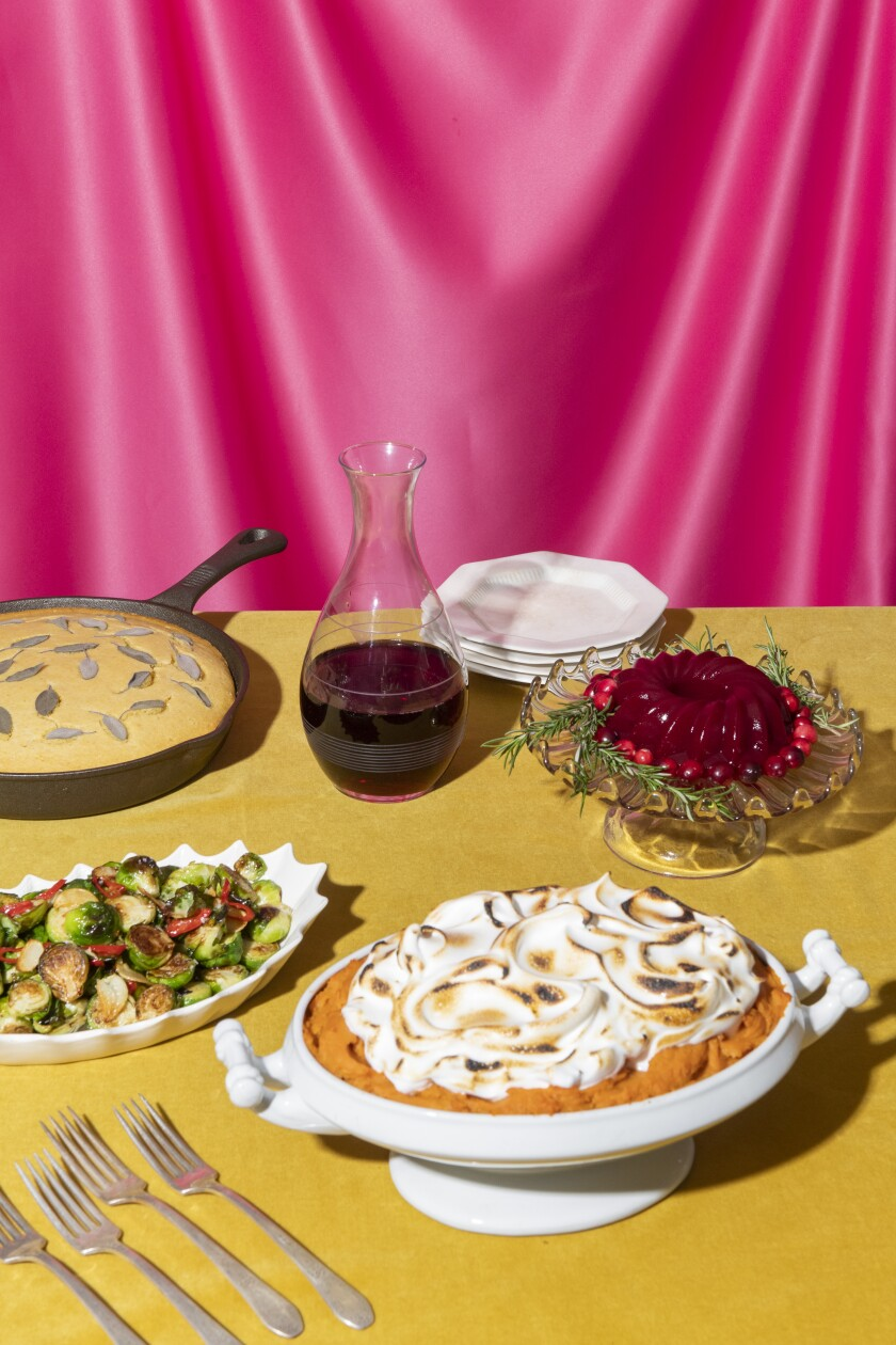 Don't freak out over the Thanksgiving feast. Just follow this guide