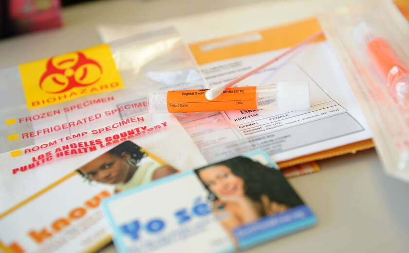 Q&A: Sexually active? You should probably get tested - Los Angeles Times
