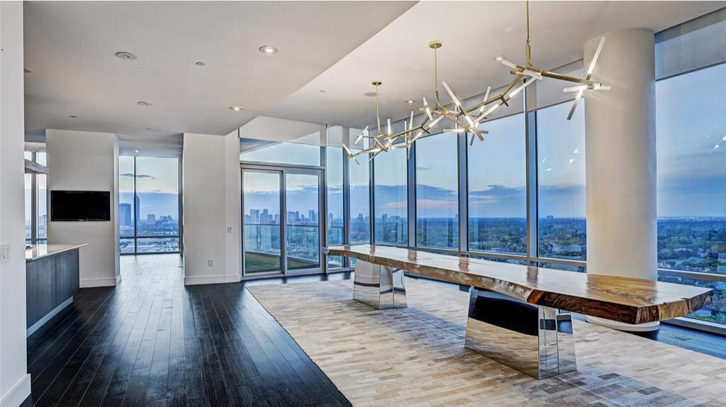 Ryan Anderson's Houston condo