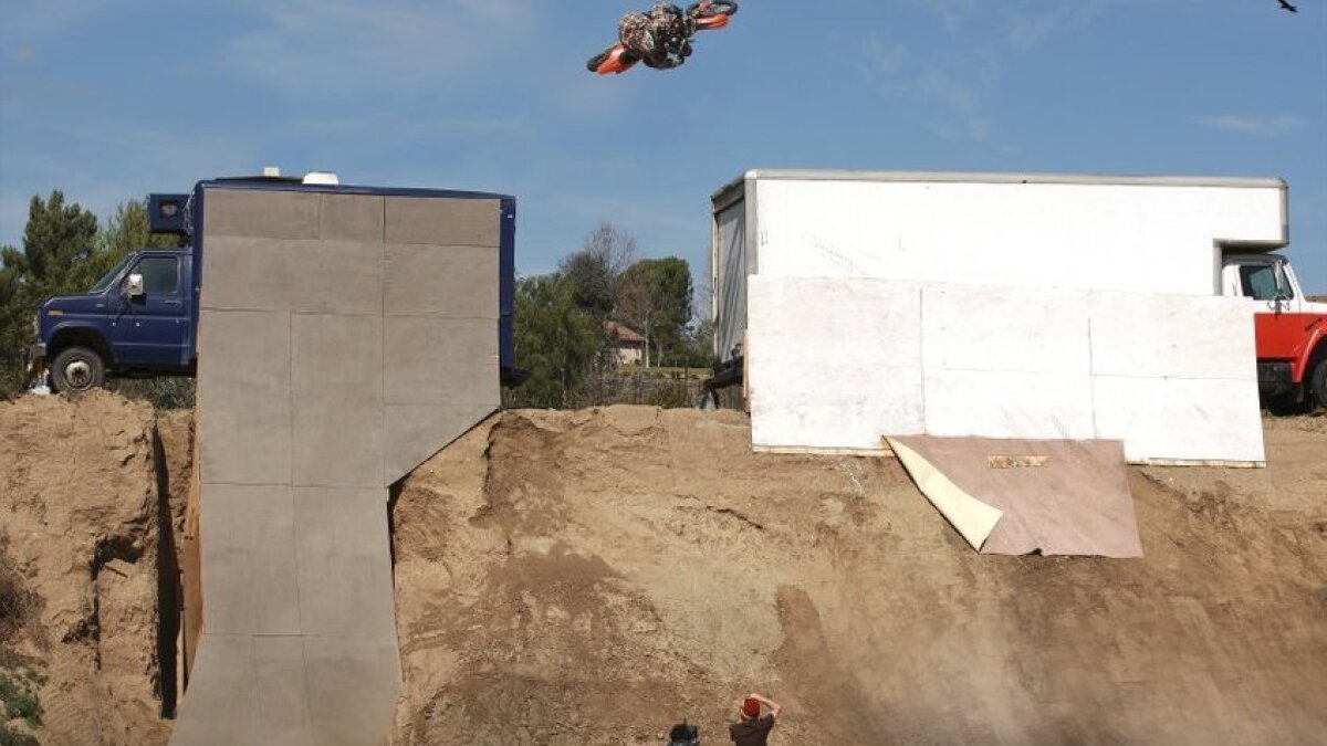 Linkogle fathered freestyle motocross, but nearly lost it