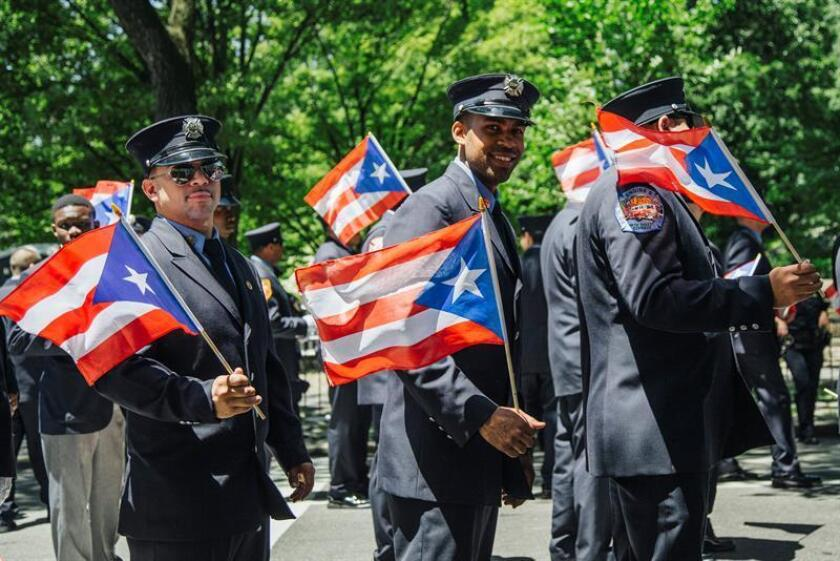 Police officers from Puerto Rico. EFE/EPA/FILE