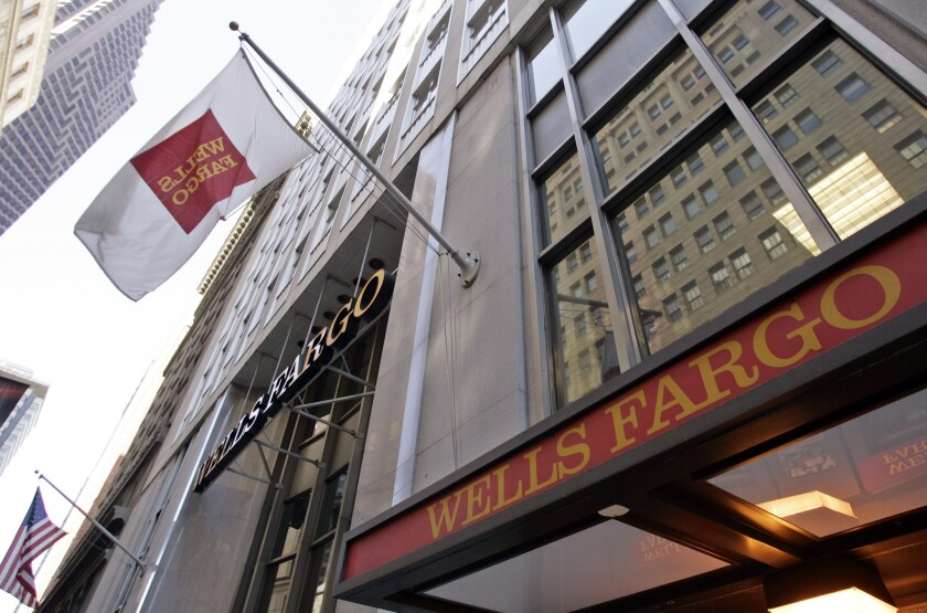Wells Fargo has agreed to a $3-billion settlement in its fake-account scandal.