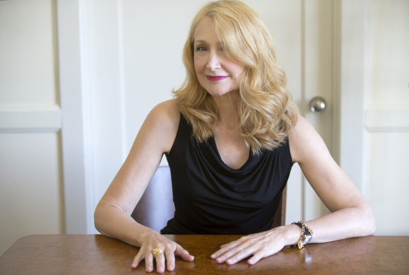 "Patricia Clarkson recently completed two other films, including ""Learning to Drive"" and ""October Gale."""