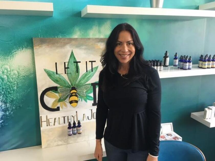 Carla Parra, owner of Lifely Wellness in La Jolla