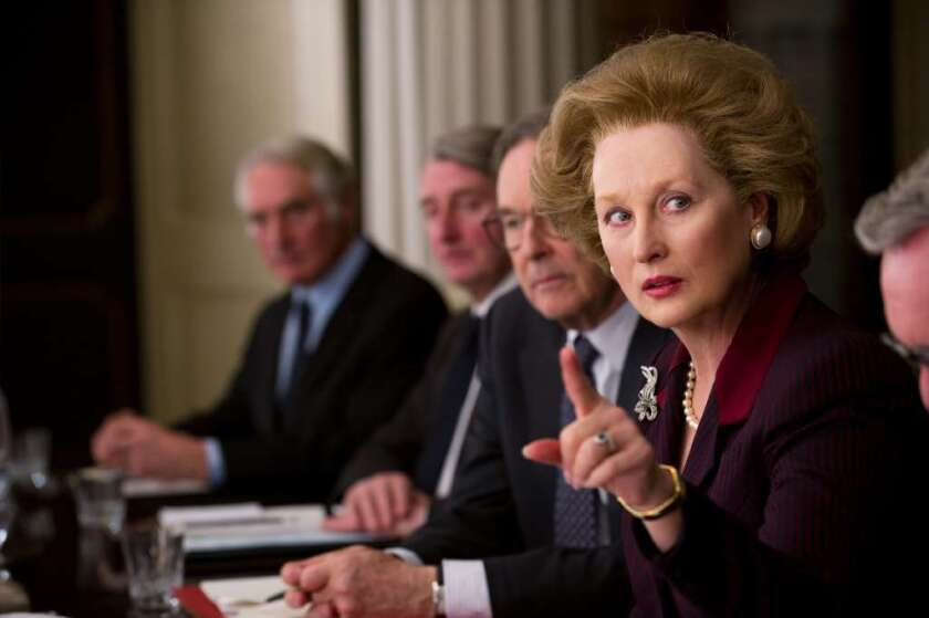 """Meryl Streep as Margaret Thatcher in """"The Iron Lady"""""""