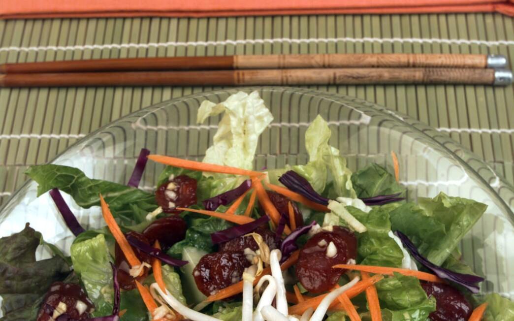 Chinese Sausage Salad