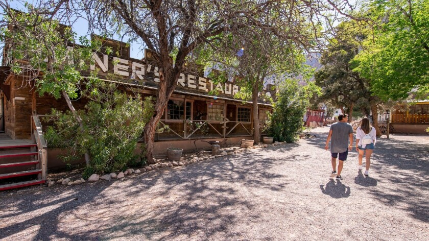 Last call for Las Vegas' Wild West frontier town - Los Angeles Times
