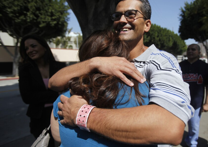 Francisco Carrillo Jr. in 2011 after his release from prison