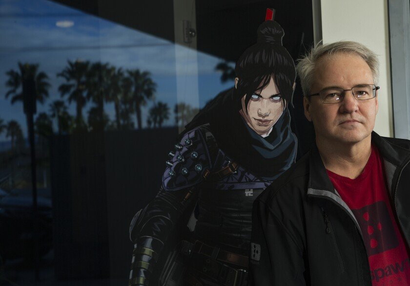 Vince Zampella, founder of video game studio Respawn Entertainment