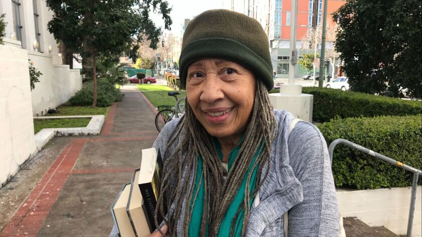 Corinne Haskins sees no artificial barriers between Oakland and its neighbors.