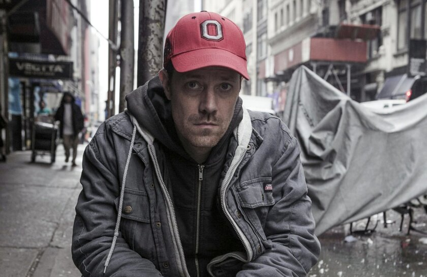 """Playwright-actor Michael Milligan of """"Mercy Killers."""""""