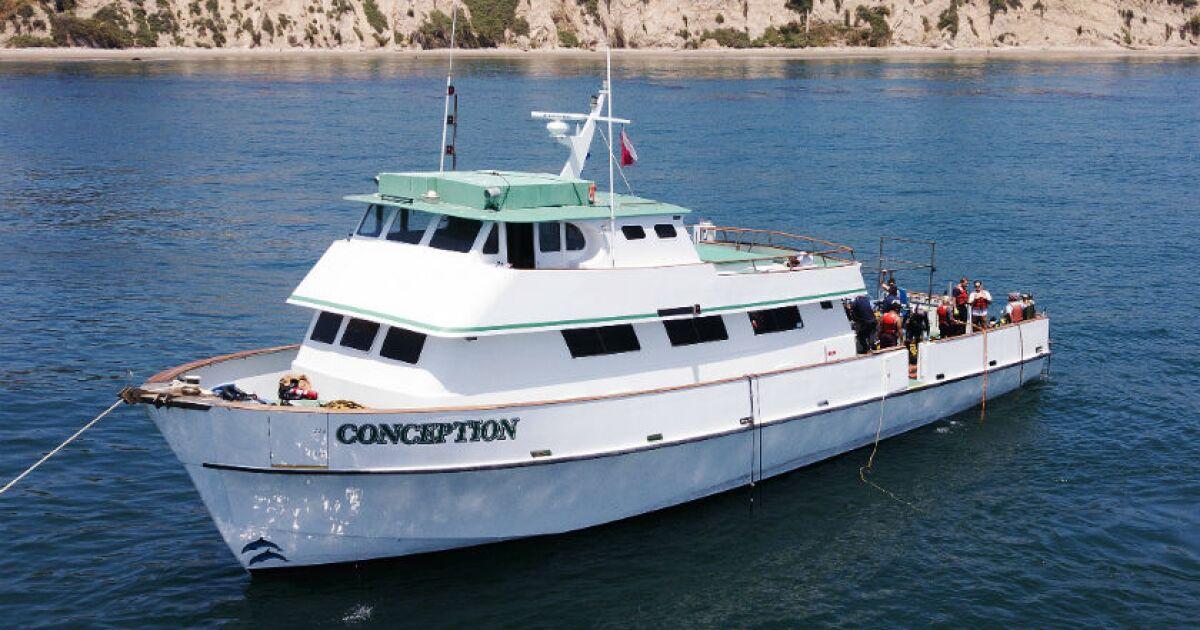 Rauch wahrscheinlich getötet, 34 gefangen unter deck in Kalifornien, Boot, Feuer, ergeben sich neue Fragen über Herkunft Punkt