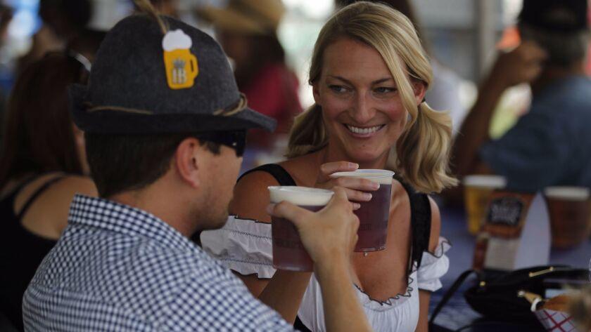 Celebrate Oktoberfest all over San Diego County.
