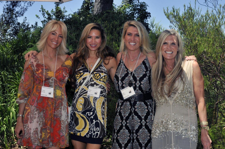 Tracy Hanak, Doris Lew, Jody Davis, Stacy Ward