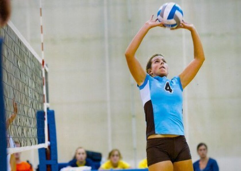 Former Bishop's School standout Kendall Lord, now a junior at Tufts. Courtesy