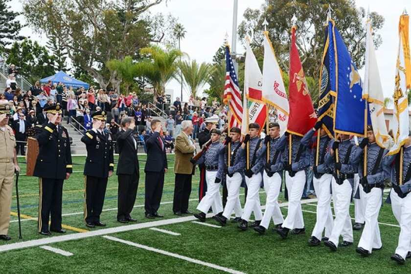The Army Navy Academy will hold a virtual Veterans Day Military Review on Nov. 11.