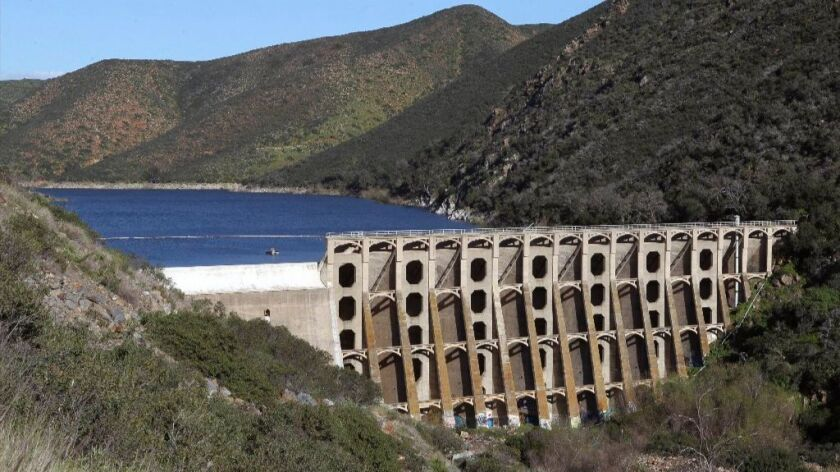 Record amounts of rainfall has prompted the need to release water from Hodges Reservoir.