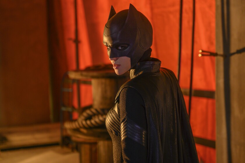 """Ruby Rose stars in the new superhero drama """"Batwoman"""" on the CW."""