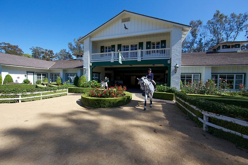Tres Palomas estate is one of five on the Historical Society's Boots, Bridles and Barns Tour. Courtesy photo