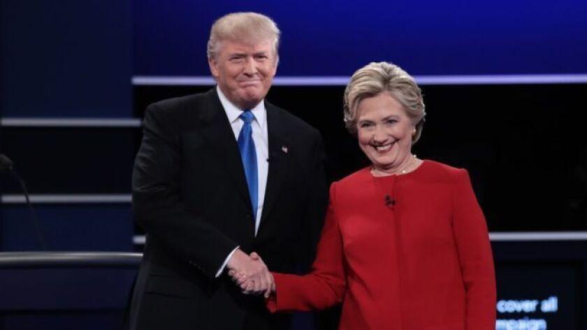 Donald Trump y Hillary Clinton debatieron durante 90 minutos.