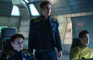 The Times' Kenneth Turan says 'Star Trek Beyond' gives fans what they want but it doesn't catch fire