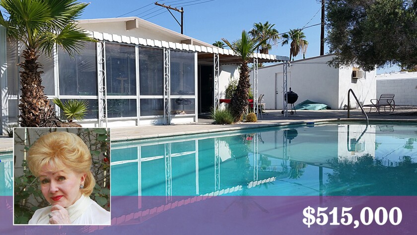 A home that actress Debbie Reynolds once bought for her parents is for sale in Palm Springs.