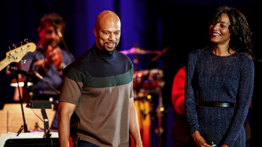 """Common and Alice Smith performed """"Glory,"""" from the movie """"Selma."""""""