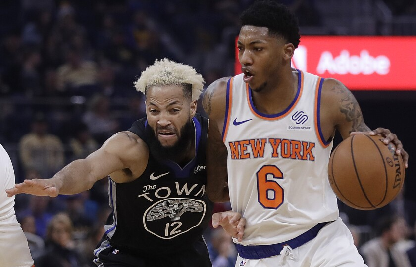 Knicks Warriors Basketball