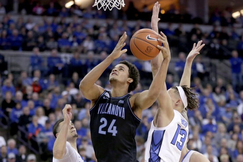 Villanova Creighton Basketball