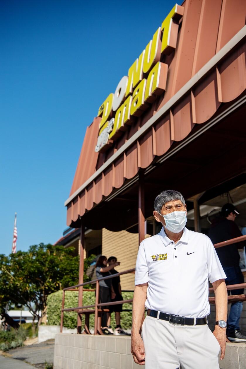 Jim Nakano, 79, founder of the Donut Man.