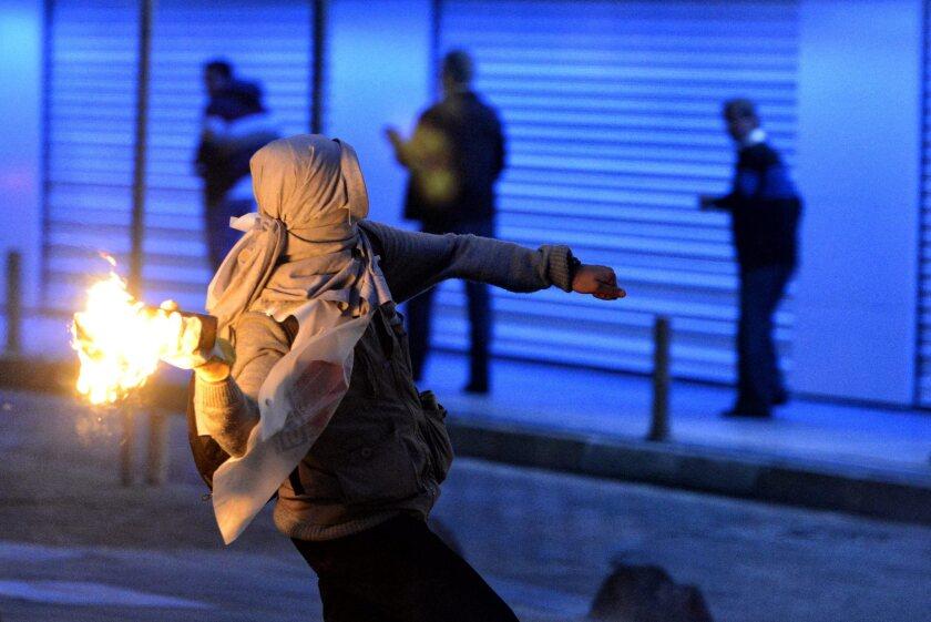 Mine explosion protest in Turkey