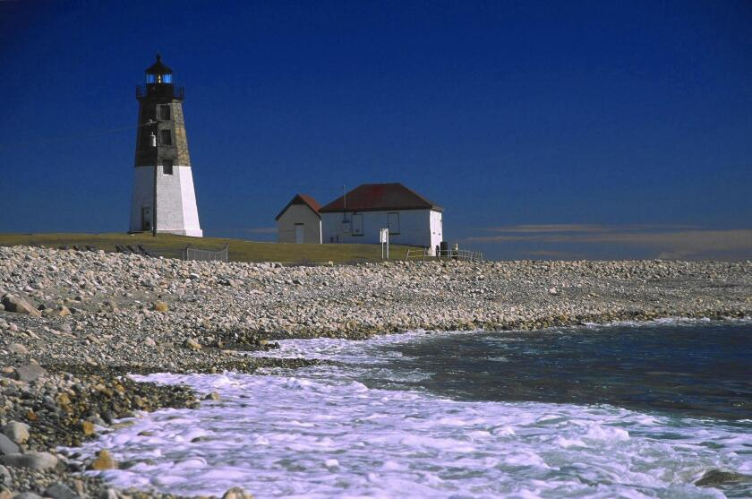 Rhode Island's Point Judith Lighthouse is worth a visit, even if just to park the car and look out at the ocean.