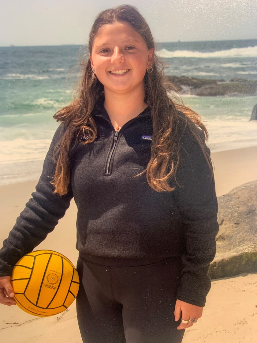 La Jolla High School athlete Ariela Stone