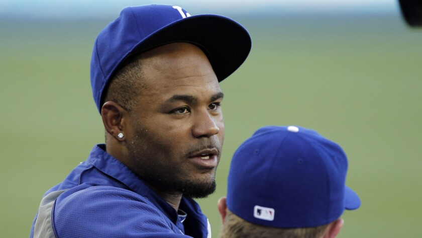 Dodgers outfielder Carl Crawford says he's not sure where he'll be playing once he comes off the disabled list.
