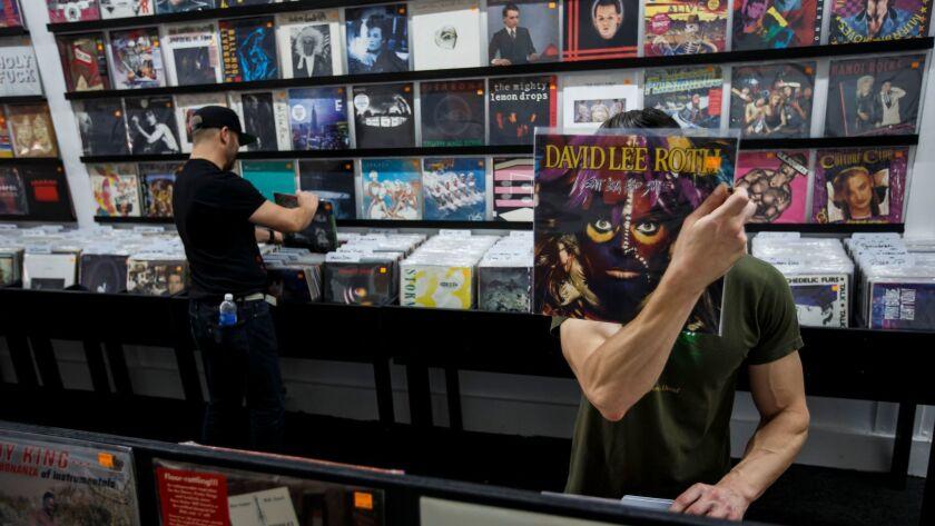 Vinyl shoppers
