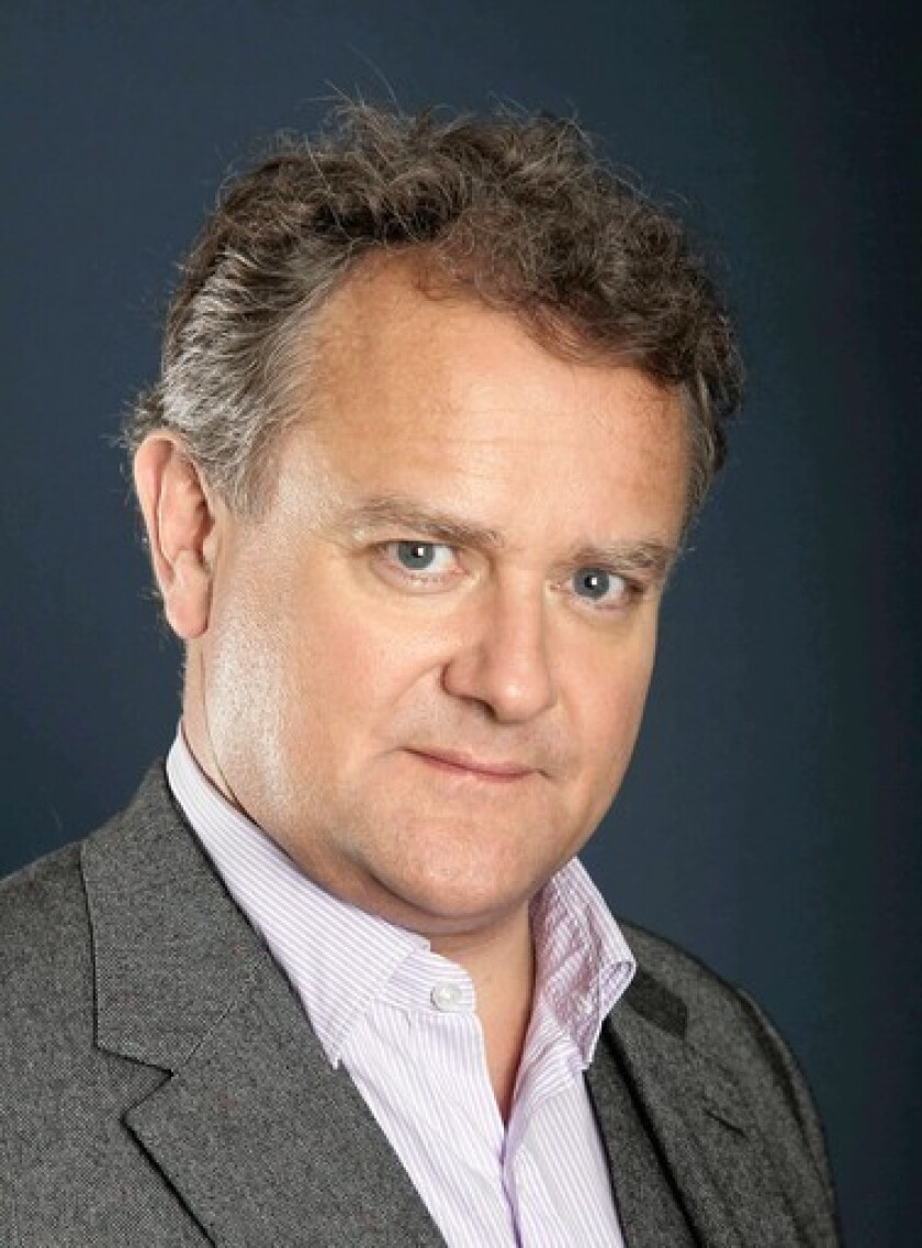 "Actor Hugh Bonneville of ""Downton Abbey."""