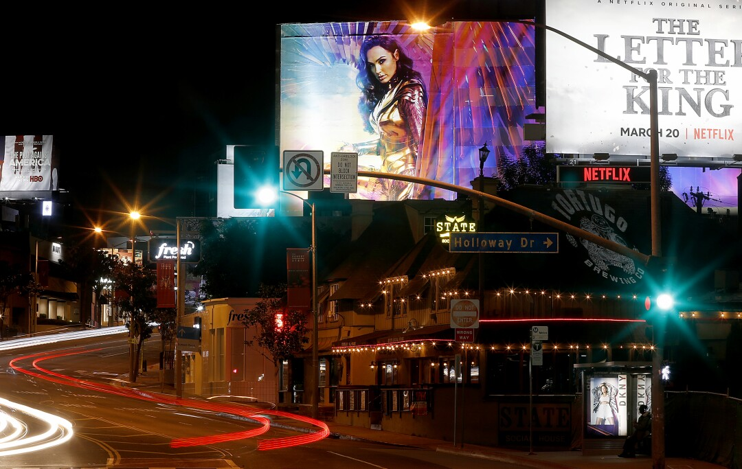Sunset Strip in West Hollywood