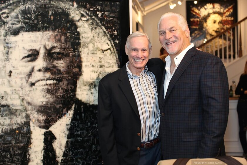 Art collectors Rick Sparks and Casey Brown