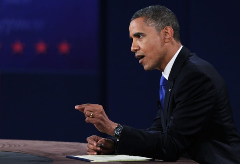 Detroit, not foreign policy, was key dispute in debate